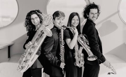Maat Saxophone Quartet - Dutch Classical Talent