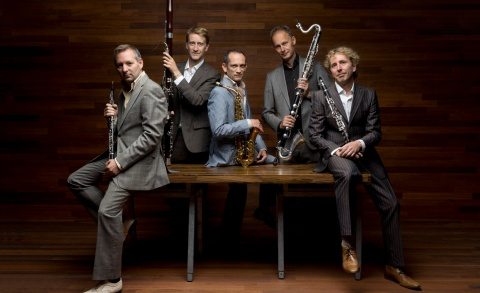 Rietkwintet Calefax - Bassoons for Future Festival