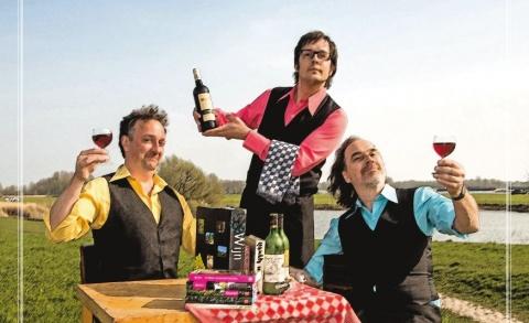 De Aimabele Schoften - Wijncabaret