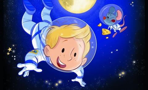 Het astronautje 4+ - Klein Amsterdam Producties
