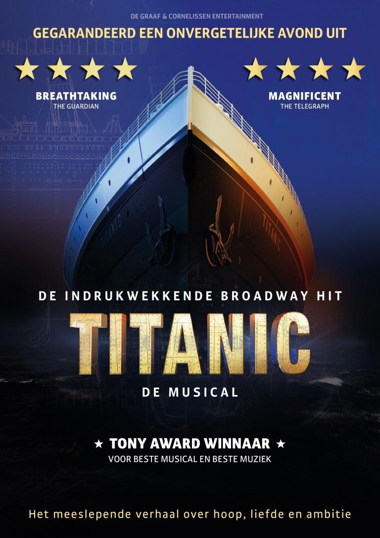 TITANIC de musical met o.a. Rene van Kooten en Mariska van Kolck