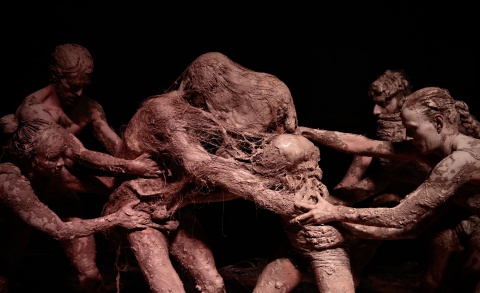 Hands do not touch your precious Me - Wim Vandekeybus & Olivier de Sagazan / Ultima Vez (Theaterreis naar Hasselt)