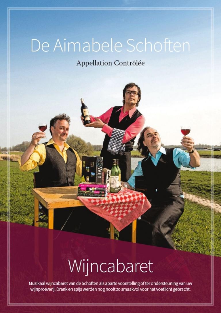 De Aimabele schoften Wijncabaret