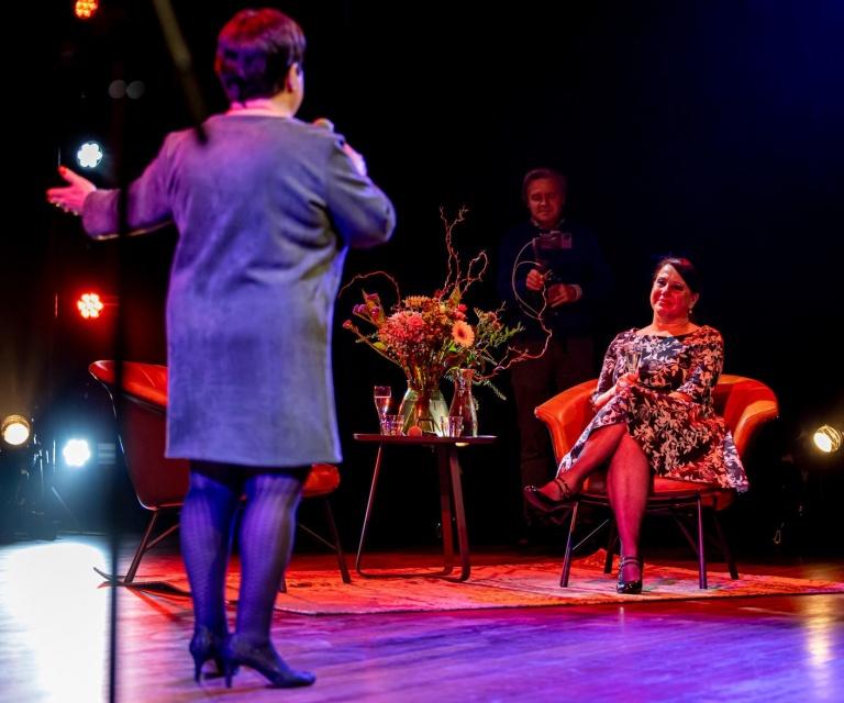 Warm welkom voor Brigitte van Eck nieuwe directeur Theater aan het Vrijthof