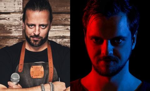 Arjan Kleton en Klaas Prins - Grappige zaken dubbelcabaret