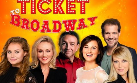 Ticket to Broadway - Jon van Eerd, Lone van Roosendaal, Brigitte Heitzer, René van Kooten, Joke de Kruijf, Vajèn van den Bosch